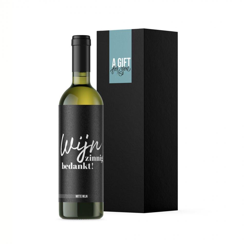 Wijnzinnig Bedankt Wit
